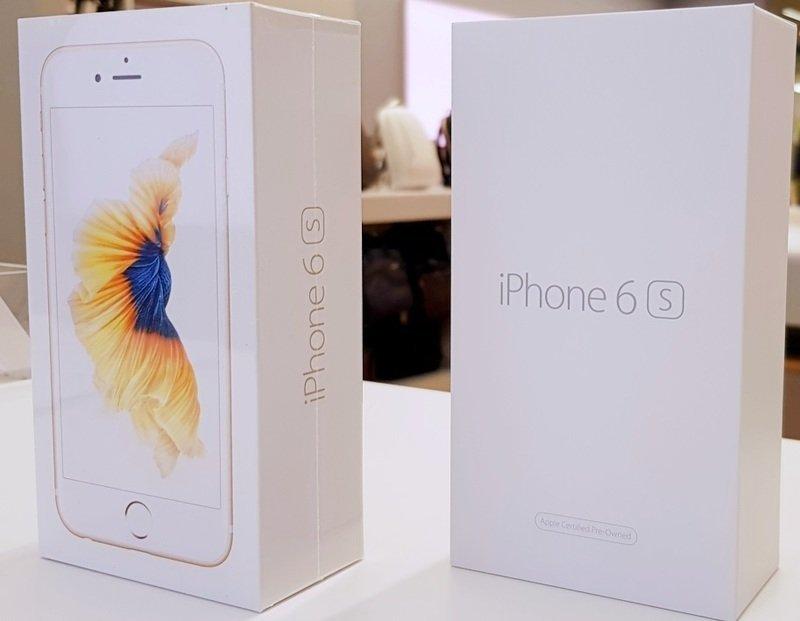 восстановленный iPhone