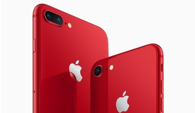 Начались продажи iPhone 8 и 8 Plus (PRODUCT)RED Special Edition