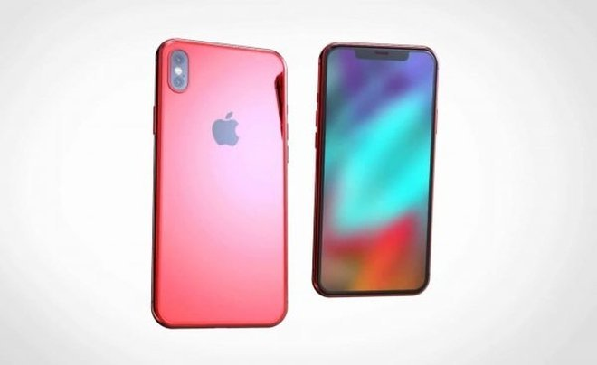 Концепт iPhone X (PRODUCT)RED