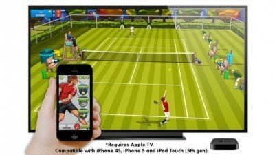 Motion Tennis for Apple TV – iPhone как теннисная ракетка