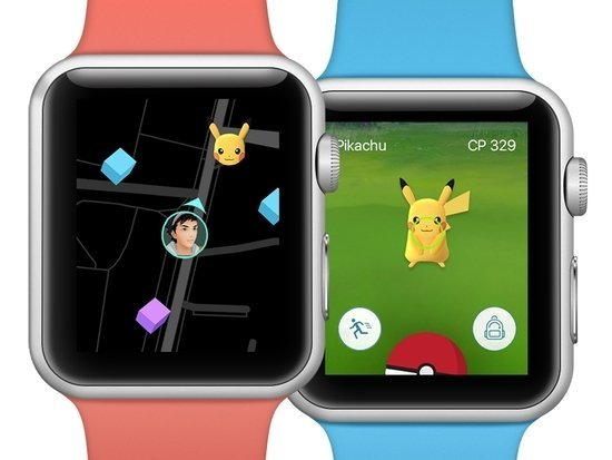 Игра Pokemon Go пришла на Apple Watch