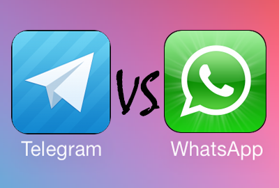 Telegram VS WhatsApp - копия против оригинала