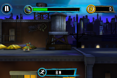 Teenage Mutant Ninja Turtles: Rooftop Run - Вселенная теперь на iOS!