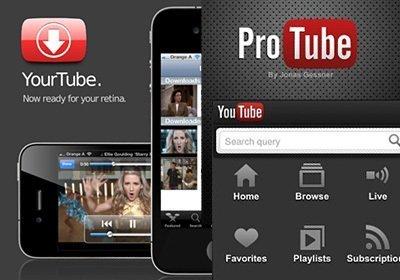 На Айфон скачать видео Свое из Ютуб