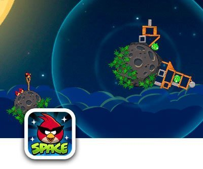 Angry Birds Space - свиньи в космосе