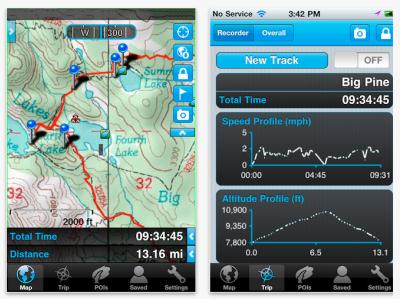 Gaia GPS: в помощь туристу и автолюбителю