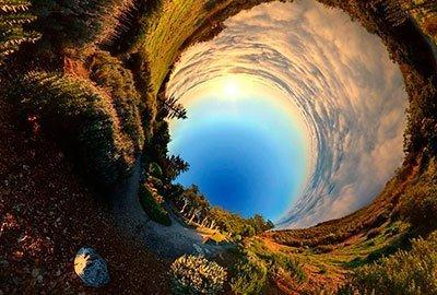 Как сделать из панорамы круговую 36