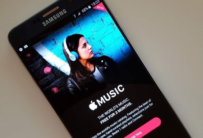 Apple Music заработал и на Android-планшетах