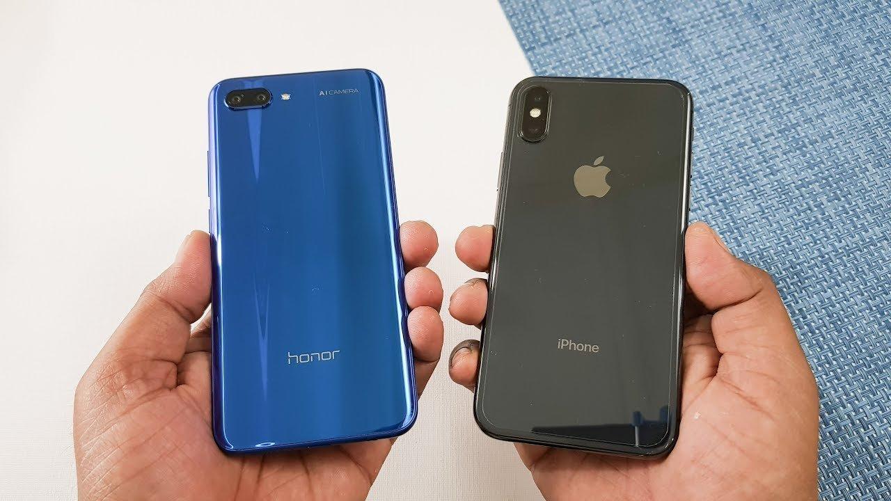 что лучше honor 10 или iphone