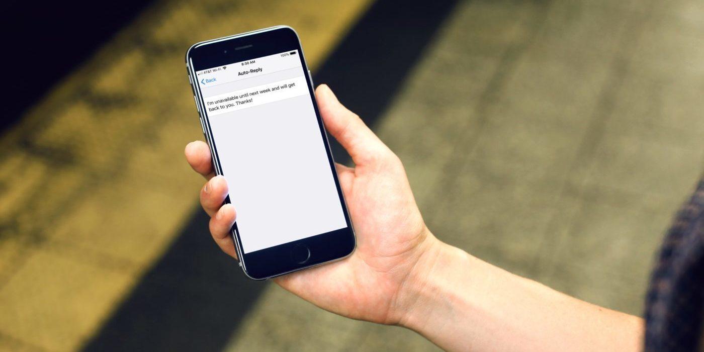 как отключить автоответчик на айфоне 6 s
