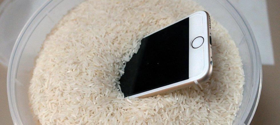 утопил айфон 6s не включается