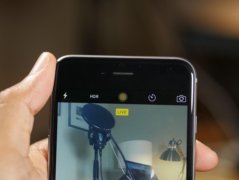 как снять живое фото на айфон так лиза