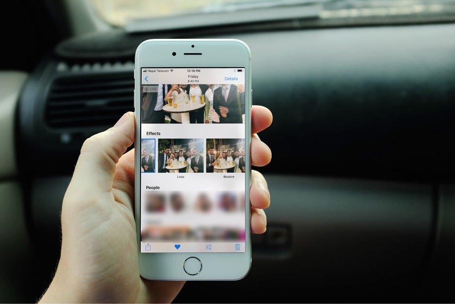 Перемешались фото на айфоне