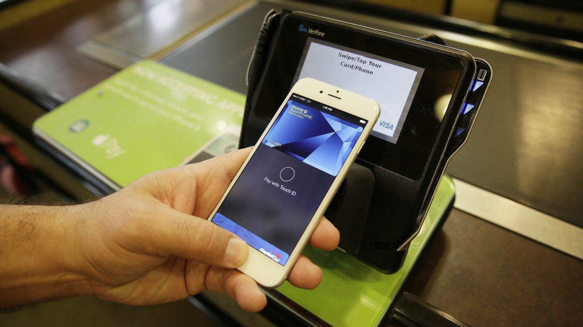 как настроить apple pay на iphone 7