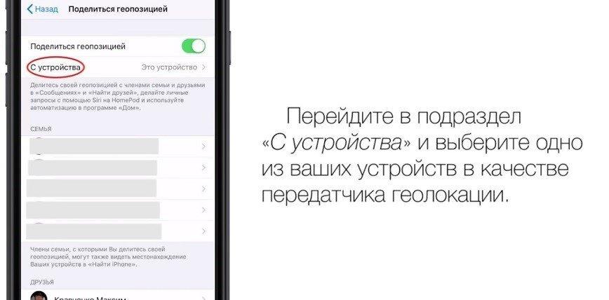 как работает приложение найти друзей на айфоне