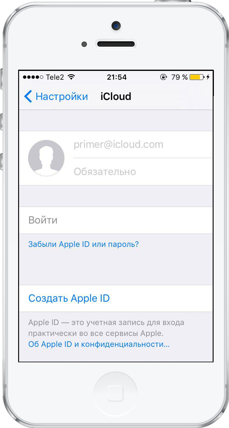 сброс apple id в iphone 4s без пароля и логина