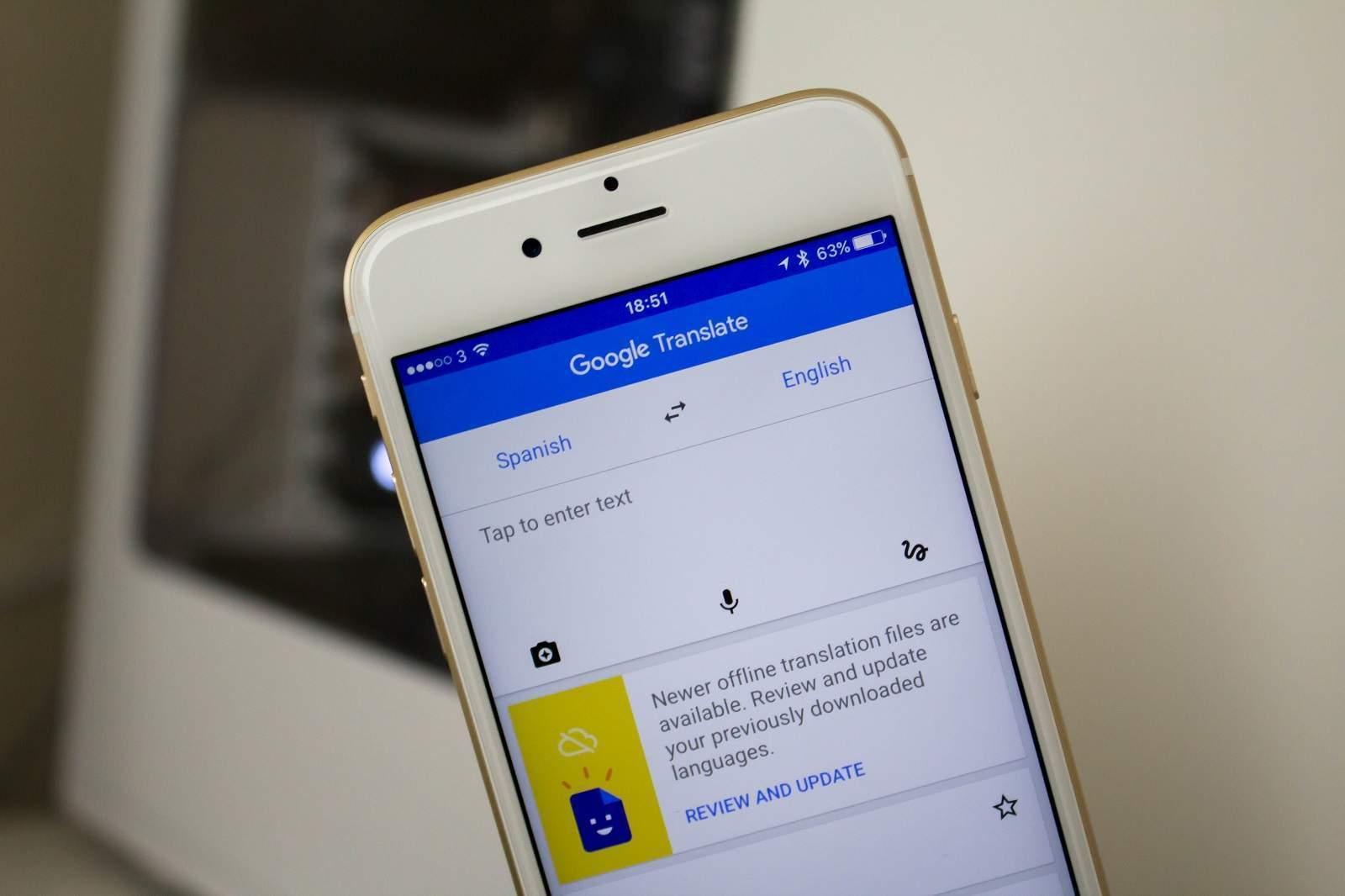 хочу приложения для айфона фото переводчик как будет клевать