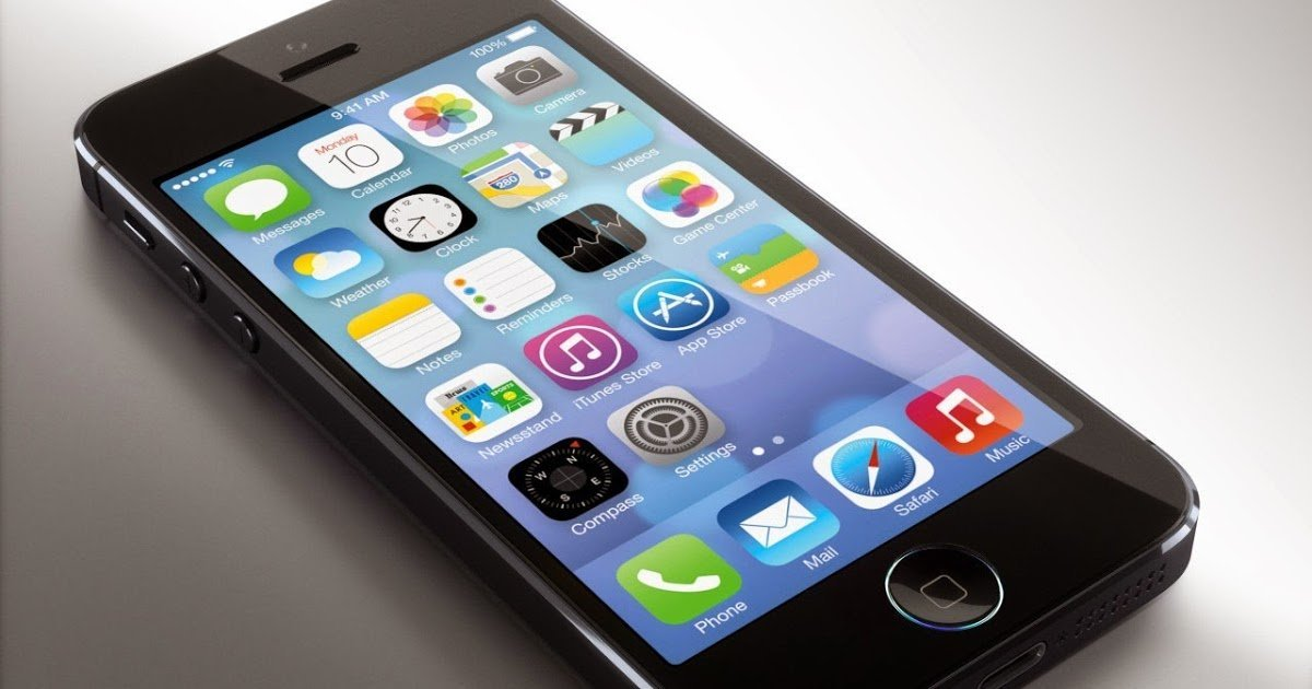 Как снять экран с айфона 5S, 5 без присоски