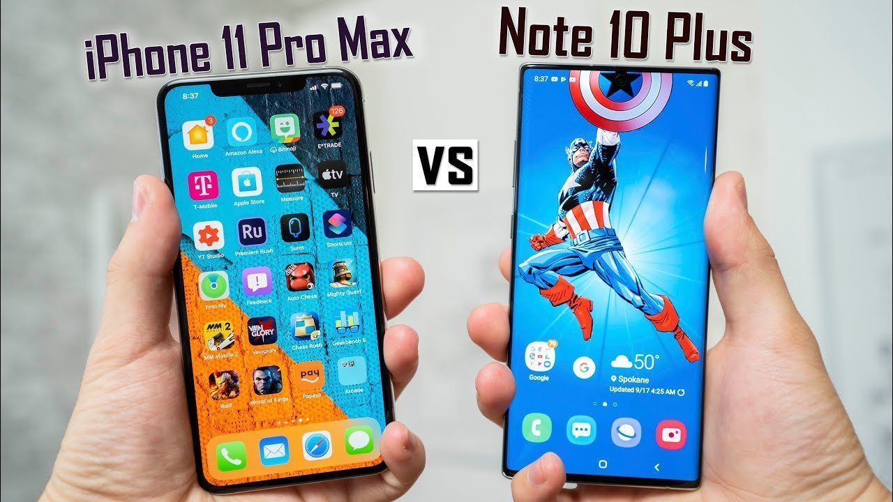Кто быстрее: iPhone 11 Pro Max или Samsung Galaxy Note 10+