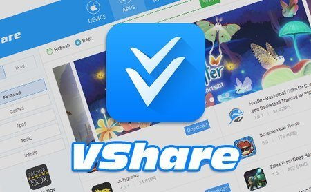 Large content vshare logo