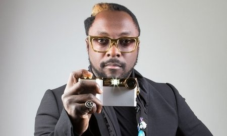 Large will.i.am with his i.am c 011