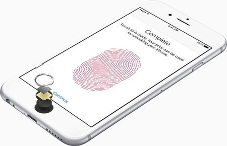 Large iphone6s touchid