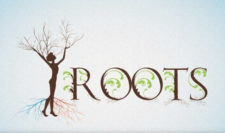 Large content roots genealogy