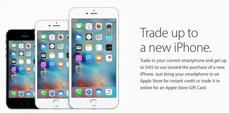 Large trade up to new iphone