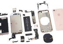 Small content ifixit teardown iphone 8
