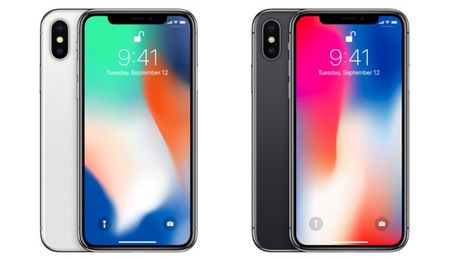 Large content iphone x color variants