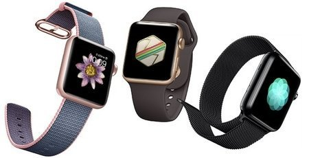Large content apple watch trio