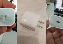 Small content apple 18 w charger