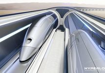 Small content hyperlooptt system front view